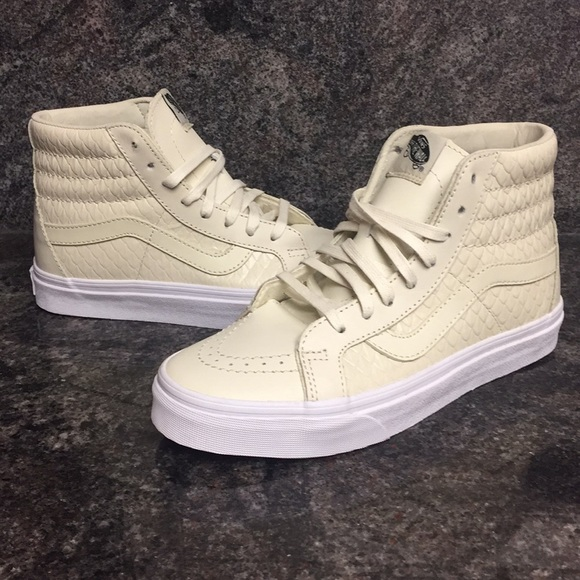 be79cdb369fc Vans Shoes | Sk8hi Reissue Dx Armor Leather Turtledove | Poshmark